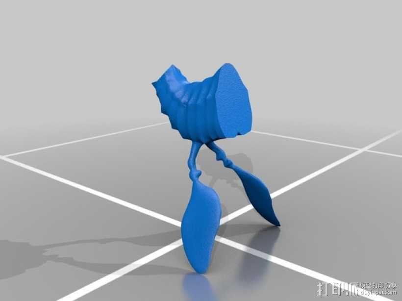 叶海龙 海龙 3D模型  图3