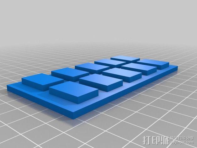 星球大战帝国军衔徽章 3D模型  图2