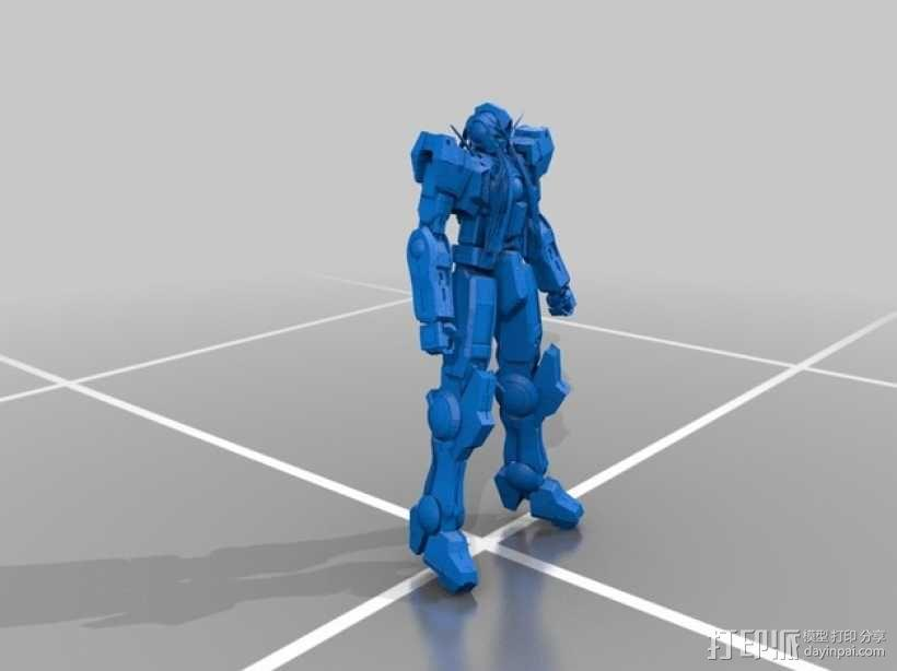 机械人 高达 3D模型  图1