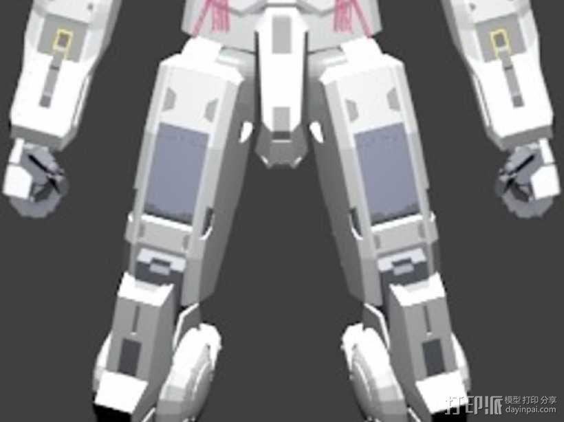 机械人 高达 3D模型  图2