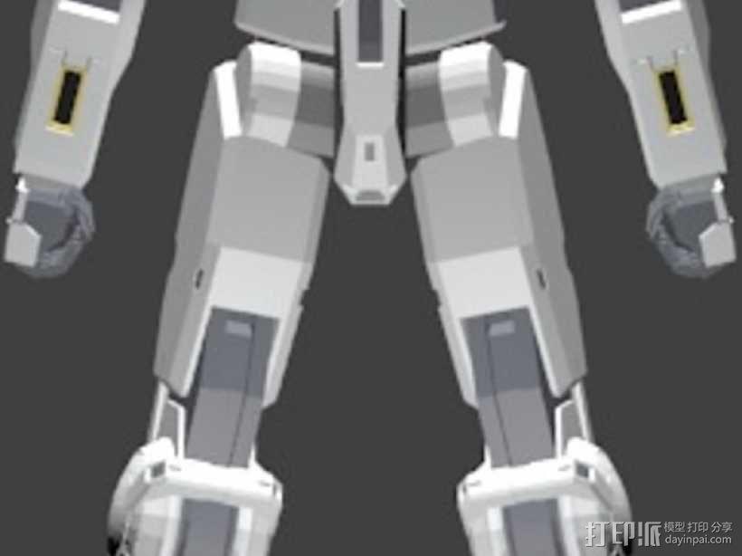机械人 高达 3D模型  图3