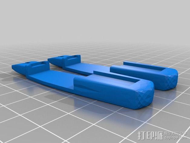 星际迷航太空飞船 3D模型  图3