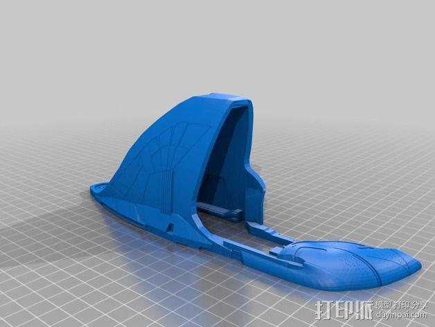 星际迷航太空飞船 3D模型  图5