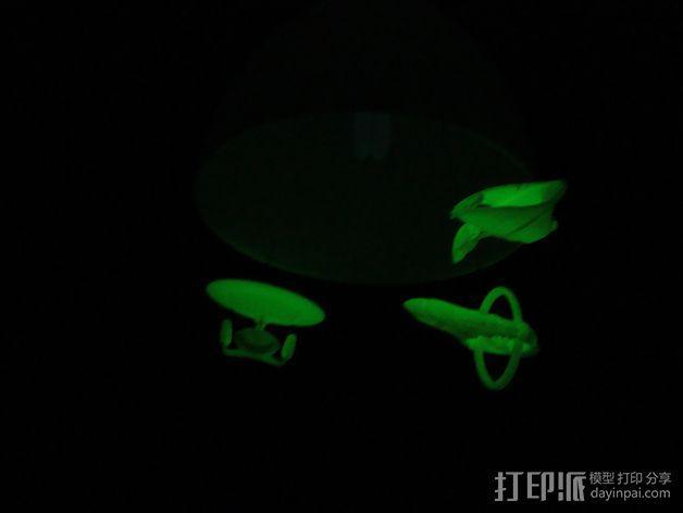 星际迷航太空飞船 3D模型  图6