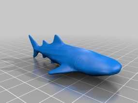 鲸鲨 3D模型