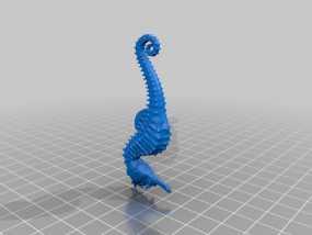 海马 3D模型