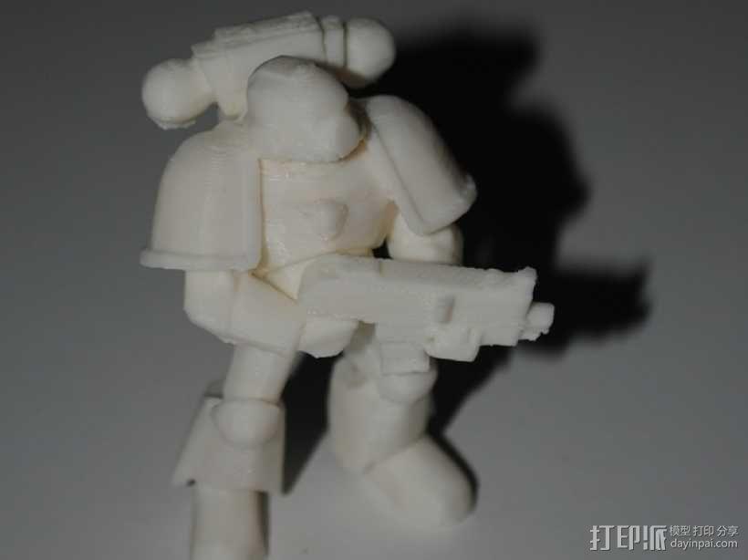 星际战士 3D模型  图2