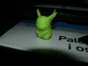 皮卡丘 3D模型