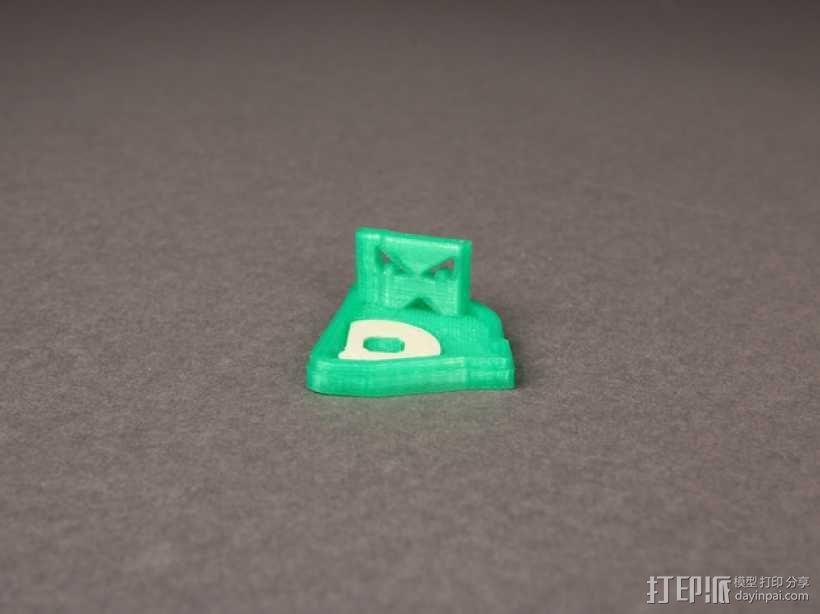 波士顿红袜队绿怪物 3D模型  图1