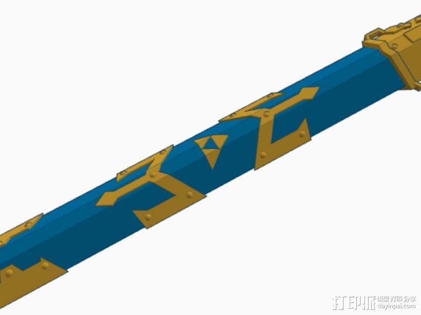 剑鞘 3D模型  图1