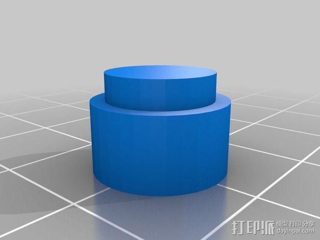 光晕头盔零部件 3D模型  图4