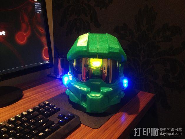 光晕头盔零部件 3D模型  图6