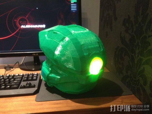 光晕头盔零部件 3D模型  图8