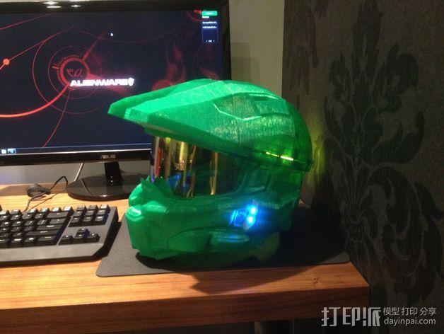 光晕头盔零部件 3D模型  图7