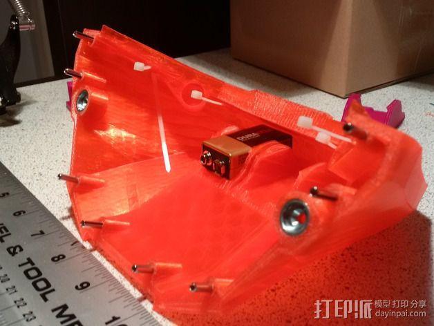 光晕4头盔 3D模型  图2
