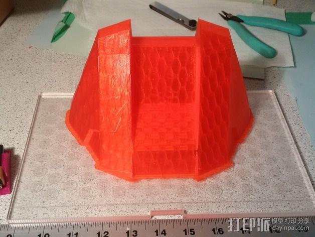 光晕4头盔 3D模型  图5