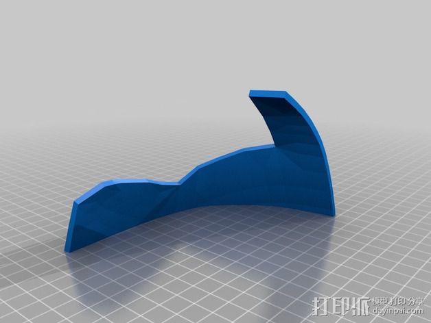 钢铁侠面具 3D模型  图2