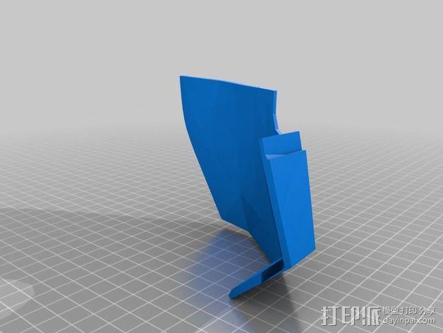 钢铁侠面具 3D模型  图5