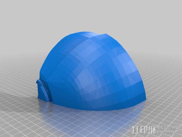 钢铁侠面具 3D模型  图4
