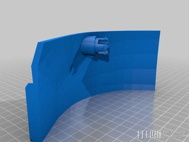 钢铁侠面具 3D模型  图6