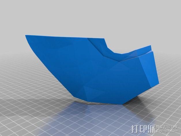 钢铁侠面具 3D模型  图8