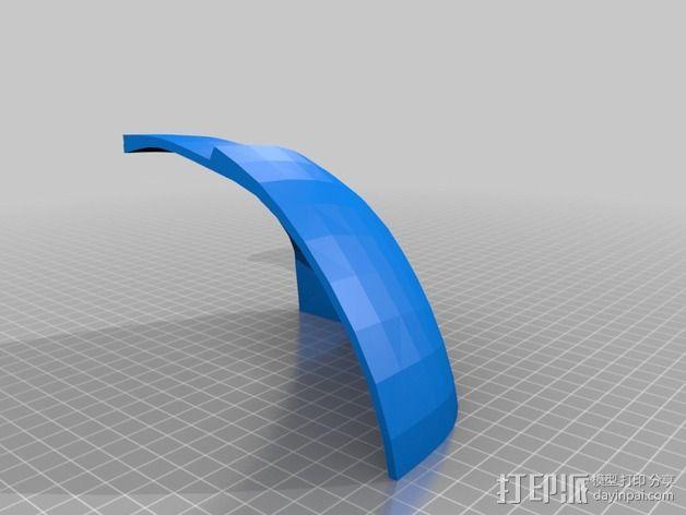 钢铁侠面具 3D模型  图7