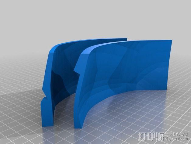 钢铁侠面具 3D模型  图12