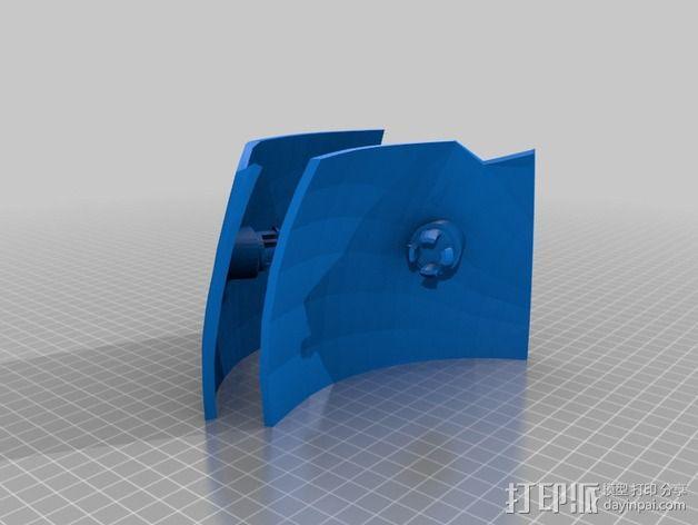 钢铁侠面具 3D模型  图15