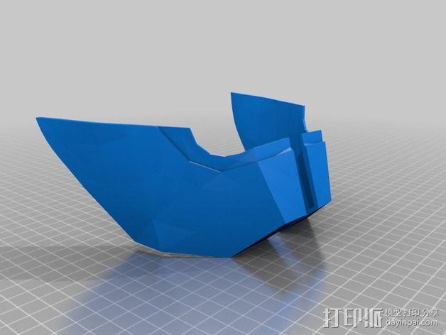 钢铁侠面具 3D模型  图21
