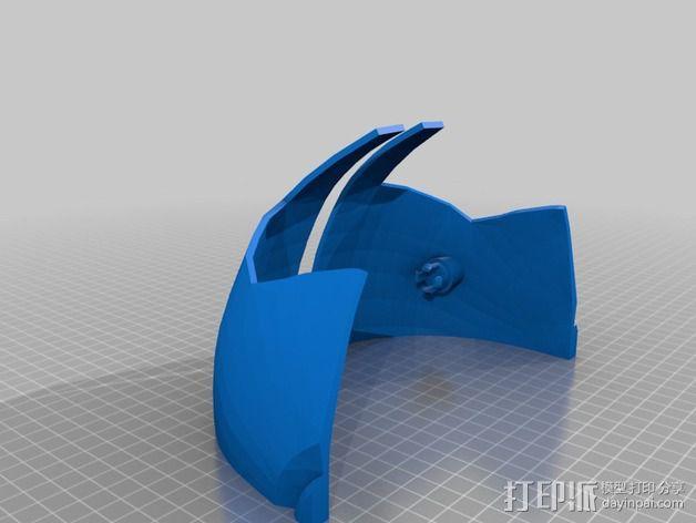 钢铁侠面具 3D模型  图24