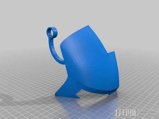 钢铁侠面具 3D模型  图23