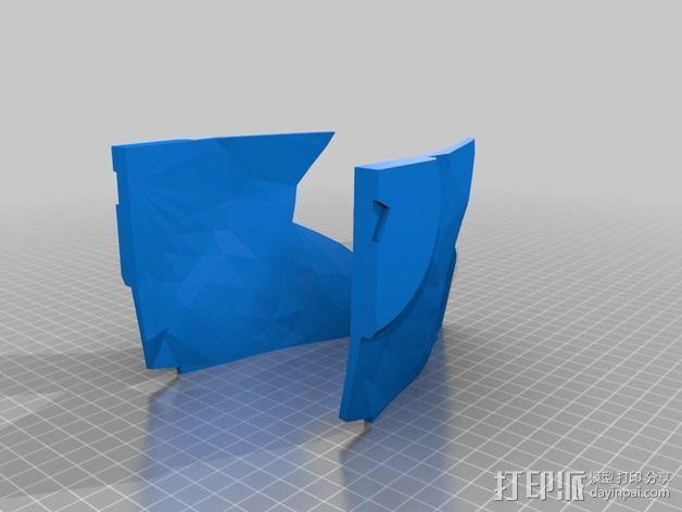 钢铁侠面具 3D模型  图27