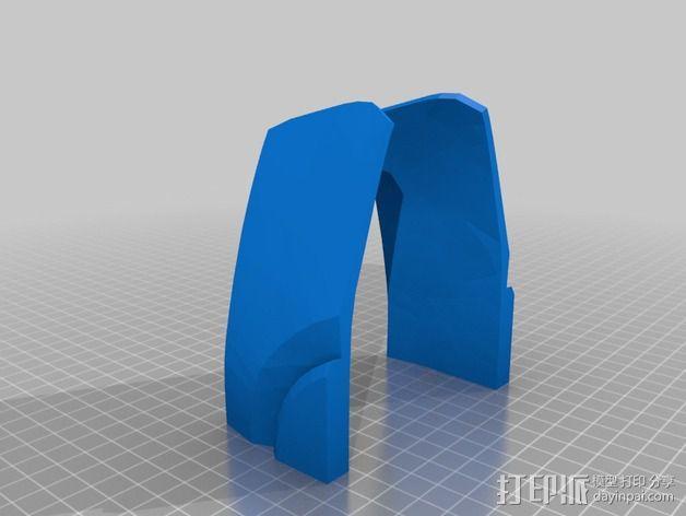 钢铁侠面具 3D模型  图28