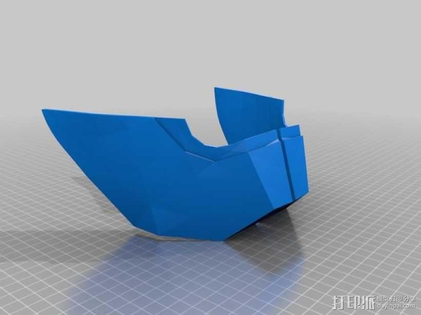 钢铁侠面具 3D模型  图32