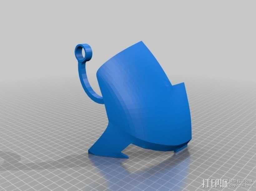 钢铁侠面具 3D模型  图33
