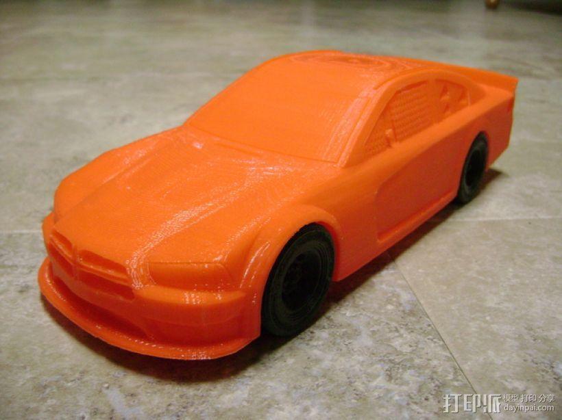 Charger赛车模型 3D模型  图1