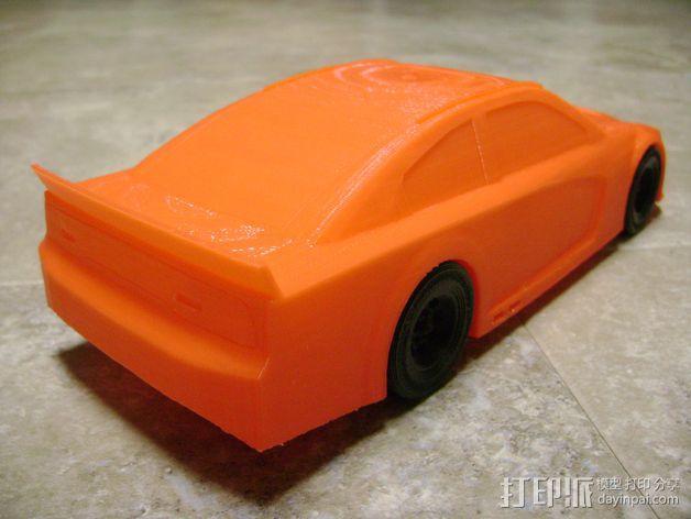 Charger赛车模型 3D模型  图5