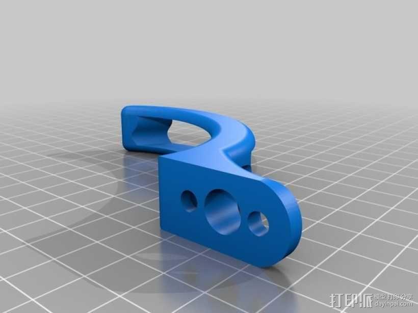 DJI Phantom 四轴航拍飞行器 3D模型  图2