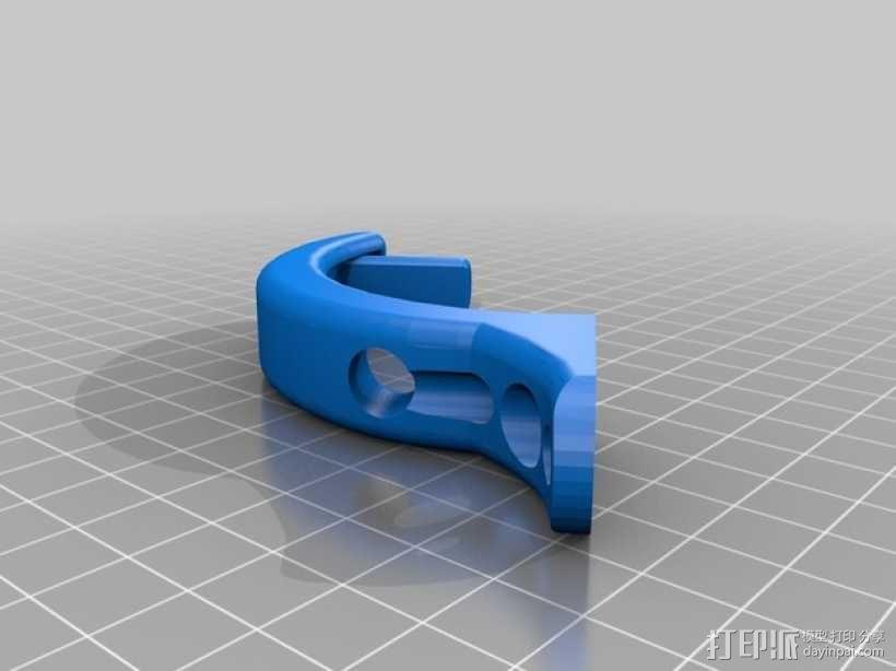 DJI Phantom 四轴航拍飞行器 3D模型  图5