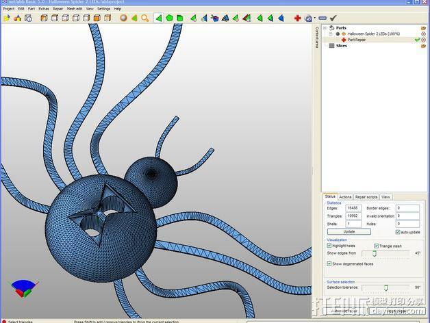 黑寡妇毒蜘蛛 3D模型  图6