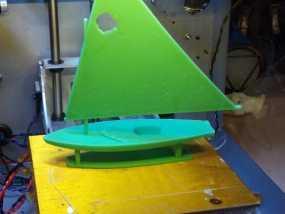 翻车鱼帆船 3D模型