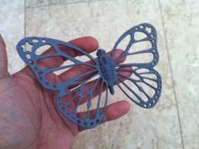 帝王斑蝶 3D模型