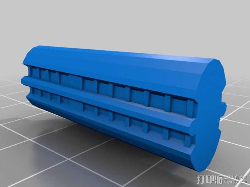 NX级星舰 3D模型  图2