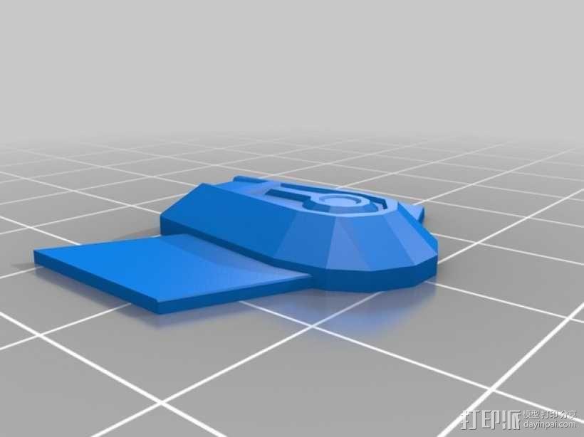 NX级星舰 3D模型  图6