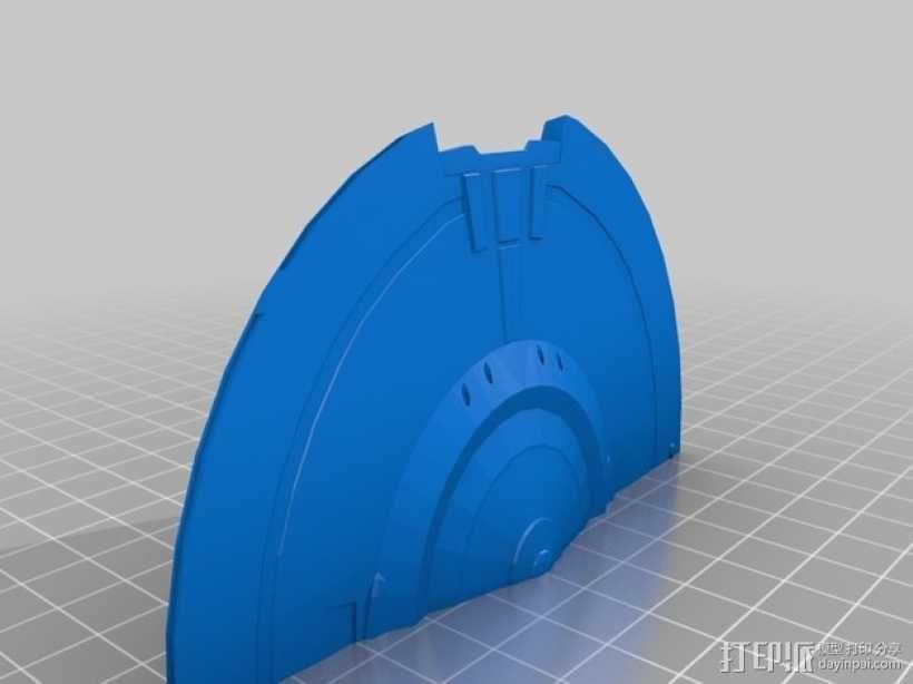 NX级星舰 3D模型  图15