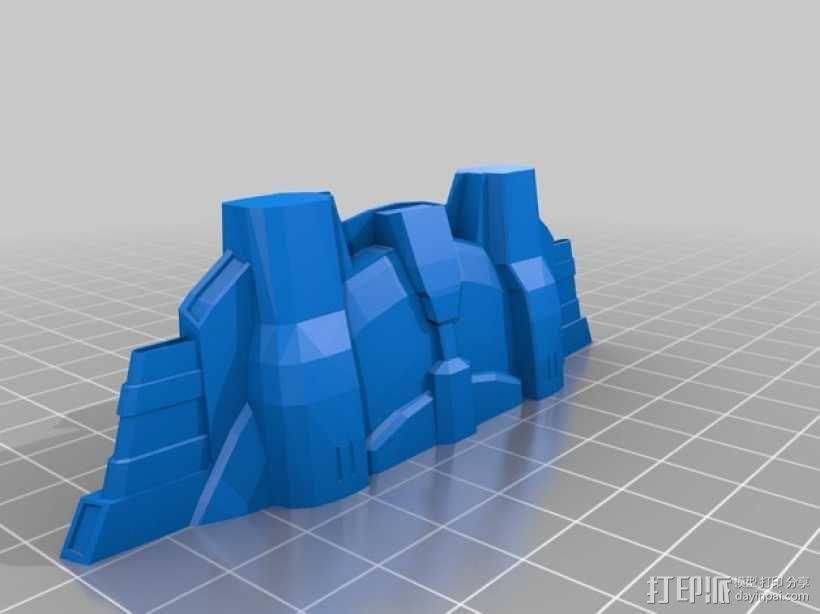 NX级星舰 3D模型  图14