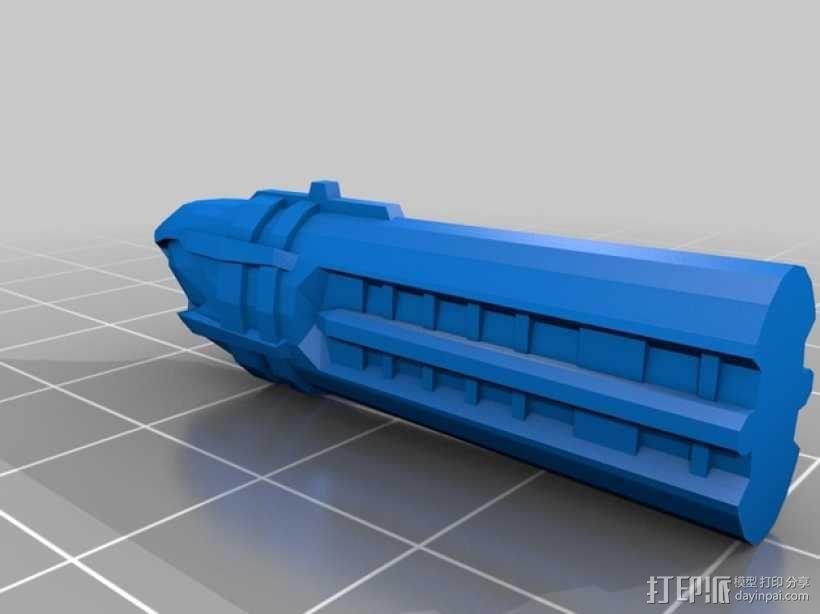 NX级星舰 3D模型  图16