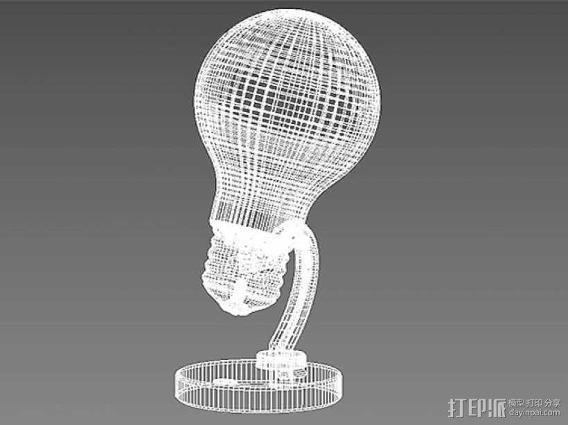电灯灯泡 3D模型  图6