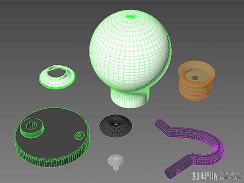 电灯灯泡 3D模型  图5
