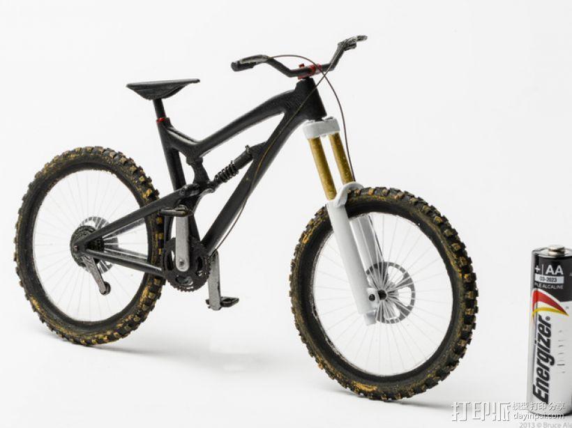 Santa Cruz Nomad自行车 3D模型  图6